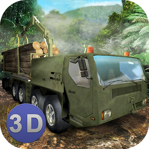 Jungle Logging Truck Simulator APK MOD (Unlimited Money) 1.4
