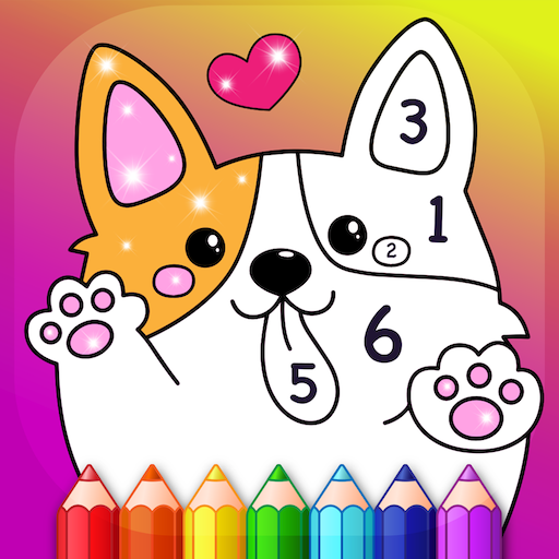 Kids Color by Numbers Book with Animated Effects APK MOD (Unlimited Money) 2.3