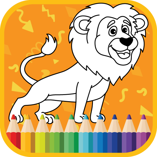 Kids Coloring Book : Cute Animals Coloring Pages  APK MOD (Unlimited Money) 1.0.1.7