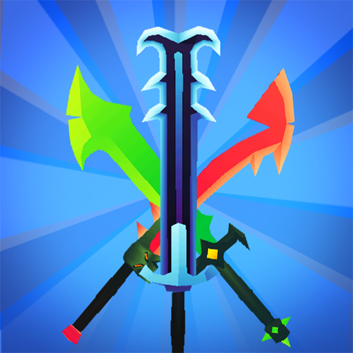 Merge Sword – Idle Blacksmith Master APK MOD (Unlimited Money) 1.3.5