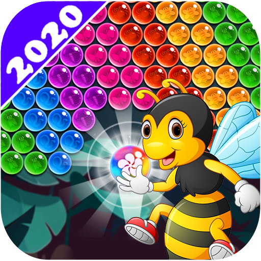 New Bubble Shooter Adventure Bee Bubble APK MOD (Unlimited Money) 1.9.0