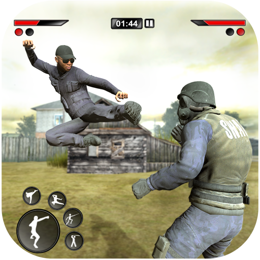 New kung Fu karate: Army Battlefield Fighting Game APK MOD (Unlimited Money) 3
