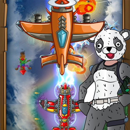 PANDA FIGHTER PLANE: AIR COMBAT 2020 GAMES APK MOD (Unlimited Money) 2