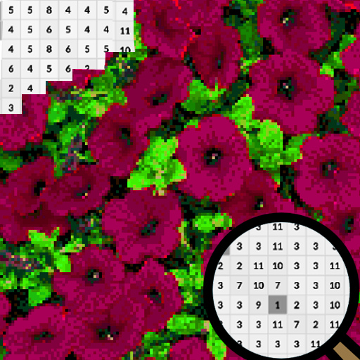 Petunia Flowers Color By Number-Pixel Art 2020 APK MOD (Unlimited Money) 2.0