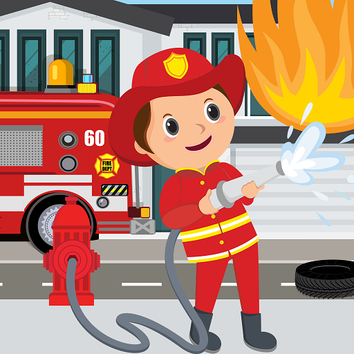 Pretend Play Fire Station: Town Firefighter Story APK MOD (Unlimited Money) 1.0.2