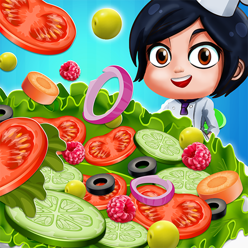 Salad Bar Manager Frenzy: Food Cafe Manager APK MOD (Unlimited Money) 1.0.5