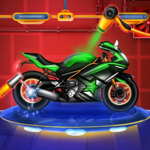 Sports Motorcycle Factory: Motorbike Builder Games APK MOD (Unlimited Money) 0.2