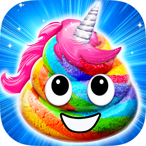 Unicorn Poop Sweet Trendy Desserts Food Maker  APK MOD (Unlimited Money) 1.6.2