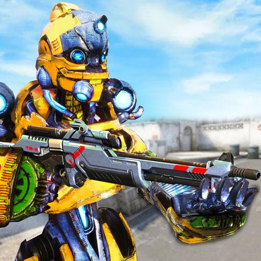 Us Army Robot FPS Shooting Strike Game 3D 2020 APK MOD (Unlimited Money) 2.2
