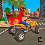 ATV Pizza Delivery Boy APK MOD (Unlimited Money) 1.1