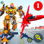 Air Robot Game – Flying Robot Transforming Plane APK MOD (Unlimited Money) 2.2
