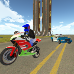 Bike Rider VS Cop Car – Police Chase & Escape Game APK MOD (Unlimited Money) 1.18