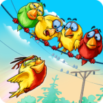 Birds On A Wire: Free Match 3 APK MOD (Unlimited Money) 2.0.27