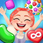 Candy Go Round 1 Free Candy Puzzle Match 3 Game   APK MOD (Unlimited Money) 1.10.0