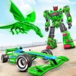 Dragon Robot Car Game – Robot transforming games APK MOD (Unlimited Money) 1.2.1