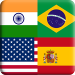Flags Quiz Gallery : Quiz flags name and color APK MOD (Unlimited Money) Flag 1.0.187