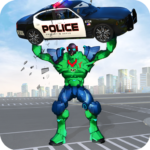 Incredible Monster Robot Hero Crime Shooting Game APK MOD (Unlimited Money) 2.0.3