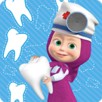 Masha and the Bear: Free Dentist Games for Kids APK MOD (Unlimited Money) 1.3.0