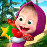 Masha and the Bear: Running Games for Kids 3D APK MOD (Unlimited Money) 1.1