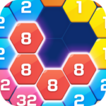 Merge  Block Puzzle – 2048 Hexa APK MOD (Unlimited Money) 1.4.1