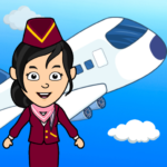 My Airport Town: Kids City Airplane Games for Free APK MOD (Unlimited Money) 1.5