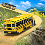 Offroad School Bus Driving: Flying Bus Games 2020  APK MOD (Unlimited Money) 1.42