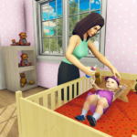Real Mother Simulator 3D – Baby Care Games 2020 APK MOD (Unlimited Money) 1.0.1