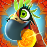 Spin Voyage: raid coins, build and master attack! APK MOD (Unlimited Money) 1.18.02