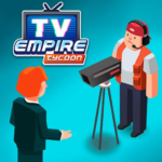 TV Empire Tycoon – Idle Management Game APK MOD (Unlimited Money) 0.9.52