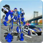 US Police Car Real Robot Transform: Robot Car Game APK MOD (Unlimited Money) 163