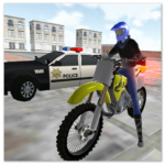 motocross racing star -ultimate police game APK MOD (Unlimited Money) 1.22
