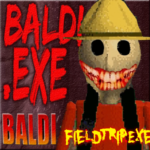 Buldi's basic Field Trip in Camping Horror APK MOD (Unlimited Money) BALDIS BASIC FIELD EXE