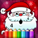 Christmas Coloring Book By Numbers APK MOD (Unlimited Money) 2.4