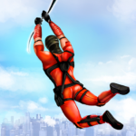 Flying Ninja Rope Hero: Light Speed Ninja Rescue APK MOD (Unlimited Money) 3.3
