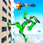 Grand Police Robot Speed: Hero Bunny Robot Games APK MOD (Unlimited Money) 1.1