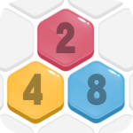 HexPop: Merge number to 2048, Free Puzzle Games APK MOD (Unlimited Money) 2.201