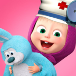 Masha and the Bear: Toy doctor APK MOD (Unlimited Money) 1.2.3