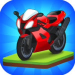 Merge Bike game APK MOD (Unlimited Money) 1.0.1.39