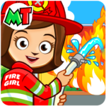 My Town : Fire station Rescue Free APK MOD (Unlimited Money) 1.02