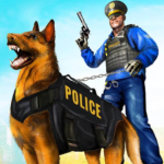 Police Dog Airport Crime Chase Dog Games  APK MOD (Unlimited Money) 3.9