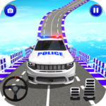 Police Spooky Jeep Stunt Game: Mega Ramp 3D APK MOD (Unlimited Money) 1.0