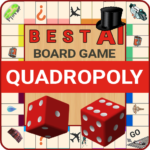 Quadropoly Best AI Board Business Trading Game   APK MOD (Unlimited Money) 1.78.82