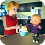 Real Mother Baby Games 3D: Virtual Family Sim 2019 APK MOD (Unlimited Money) 1.0.6