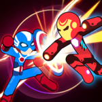 Stickman Superhero – Super Stick Heroes Fight APK MOD (Unlimited Money) 0.2.3