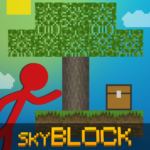 Stickman vs Multicraft: Skyblock Craft APK MOD (Unlimited Money) 1.1.0