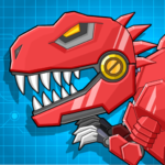 Toy Robot Mexico Rex Dino War APK MOD (Unlimited Money) 1.1.77