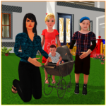Virtual Single Mom Simulator: Family Mother Life APK MOD (Unlimited Money) 1.17