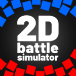 2D Battle Simulator 😅 -totally accurate simulator APK MOD (Unlimited Money) 1.96