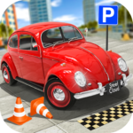 Classic Car Parking Real Driving Test APK MOD (Unlimited Money) 1.7.9