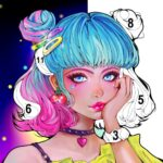 Sweet Coloring Color by Number Painting Game  APK MOD (Unlimited Money) 1.0.32